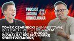 Tomek Czarnecki z Local Heroes razem z Karoliną Słotą budują globalną markę streetwearową